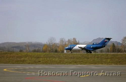 Летные проверки горно-алтайского аэропорта