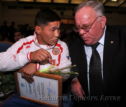 Валерий Сороноков и глава региона Александр Бердников