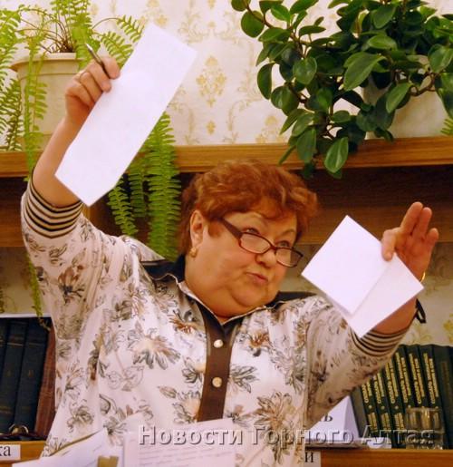 Участие в работе избиркома помогло Неле Табакаевой на время сохранить свой пост