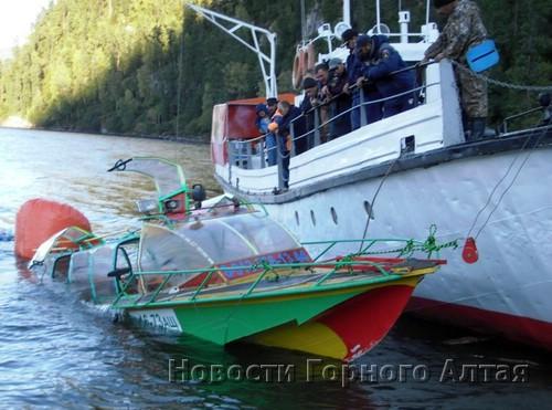 Затонувший катер удалось поднять только 15 сентября
