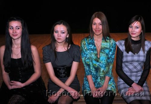 Анастасия Бурыгина, Айсулу Турлунова, Ирина Чуб, Наталья Согоношева