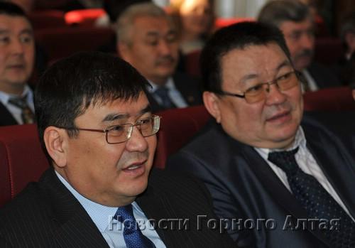 Отношения Сергея Пекпеева (слева) с юбиляром складывались по-разному, но в основном хорошо