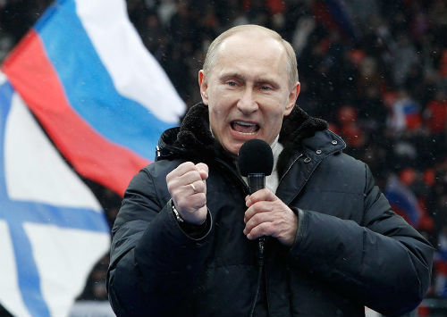 Путин просто взорвал публику, считает депутат Владислав Анчин. Фото Reuters