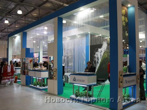 Стенд Республики Алтай на «Интурмаркете»