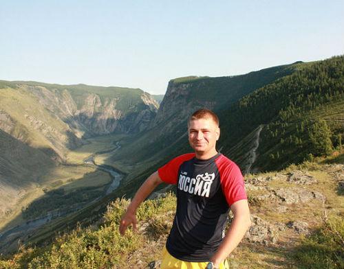 Сергей Солнечников у перевала Кату-Ярык…