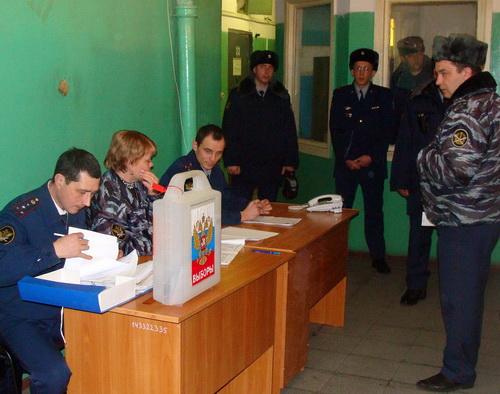 В СИЗО №1 было организовано голосование на президентских выборах