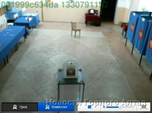Избирательный участок №62 в Кызыл-Озеке: сторож уже ушел спать, но телевизор все еще включен