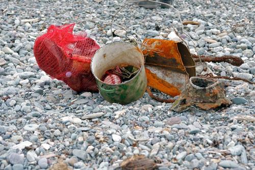 Дайверы достали со дна Телецкого озера около ста килограммов мусора