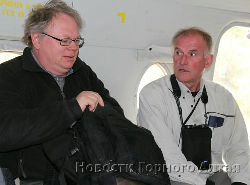 Представитель Комитета по мировому наследию ЮНЕСКО Гай Дебоннет и эксперт Всемирного союза охраны природы Эрве Летье