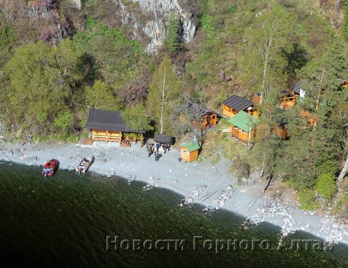 … и визит центр у водопада Корбу