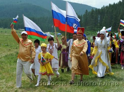 Делегация Усть-Канского района