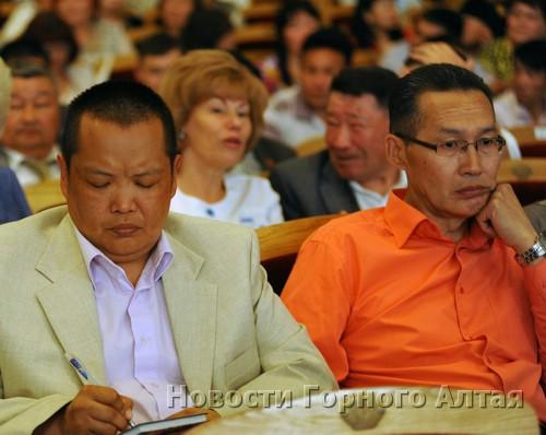 Участники съезда
