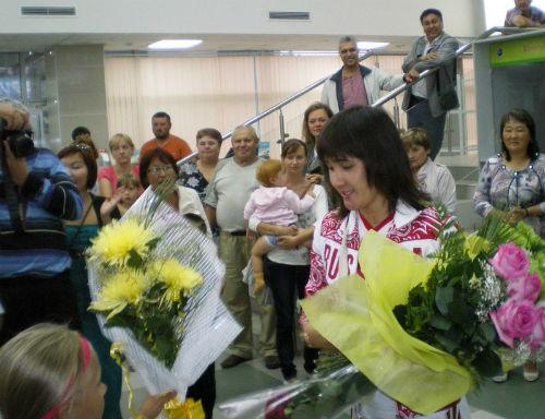 Елена Аржакова приехала в Горно-Алтайск