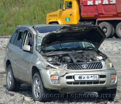 ДТП с участием Toyota RAV4 из Новосибирска