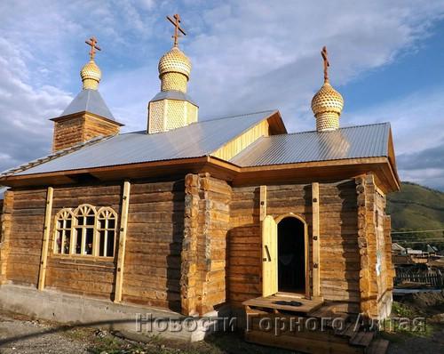 Успенская церковь в Шебалино