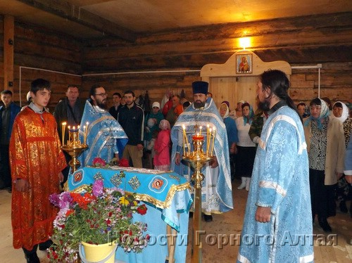 Освящение и божественная литургия