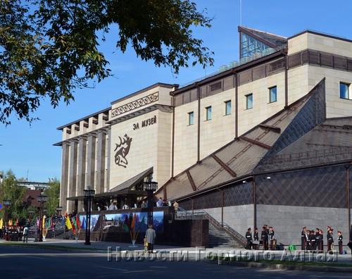 В Горно-Алтайске состоялась церемония открытия Национального музея