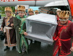 Как на Алтае встречали «принцессу Укока»: фоторепортаж