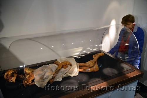 Мумия теперь в Горно-Алтайске