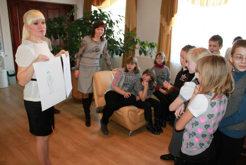 Детям рассказали о работе редакции «Звезды Алтая»…