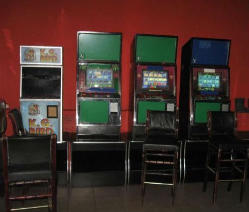 В «Ткацком» изъяли 19 игровых автоматов