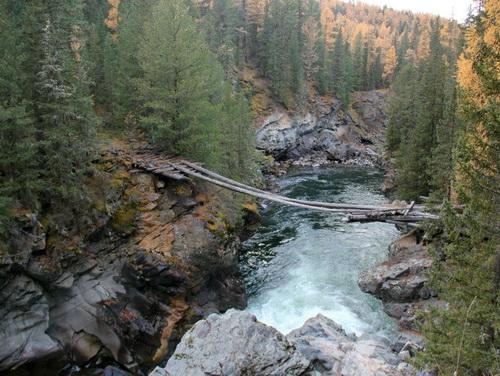 Чертов мост через Чулышман