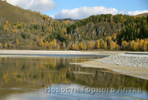 Озеро будет наполняться водой около двух месяцев