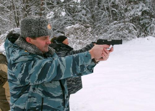 Министр внутренних дел Александр Удовенко дал высокую оценку боевой слаженности и выучке личного состава