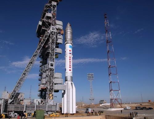 «Протон-М» перед запуском