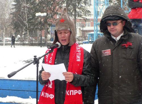 Виталий Сурбашев стал коммунистом