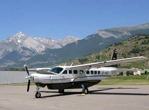 Самолет Cessna Grand Caravan 208B (фото с сайта piknikrotary.pl)