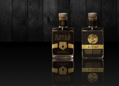Шведский дизайнер разработал концепт виски Altai
