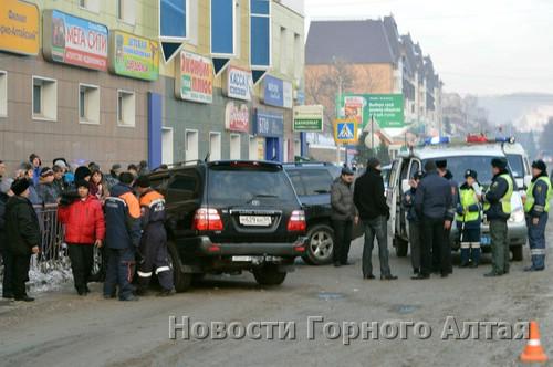 ДТП произошло около автовокзала