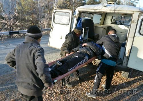 ДТП около Чемала обернулось сломанной шеей