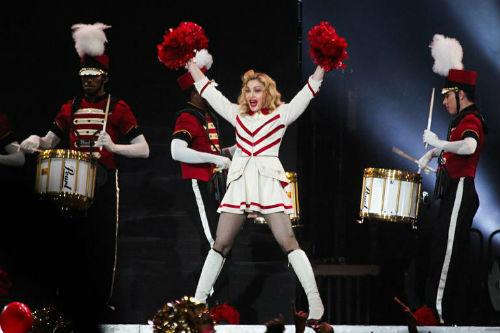 Мадонна на концерте в Сан-Паоло 5 декабря. Фото Caras online