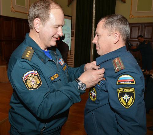 Игорь Букин награжден медалью маршала Василия Чуйкова