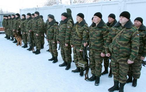 Омоновцы отправились в очередную командировку на Кавказ
