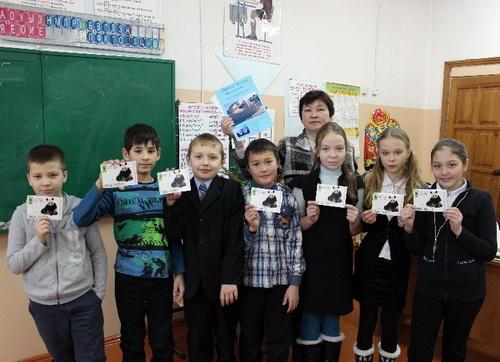 В Иогаче дети получили панда-паспорта