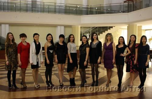 В финале конкурса «Принцесса Алтая» примут участие 12 девушек