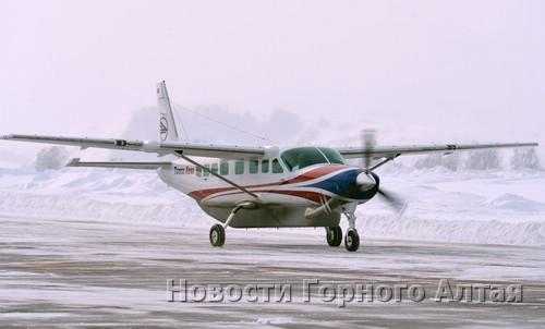 Горно-алтайский аэропорт принял первый технический авиарейс из Томска