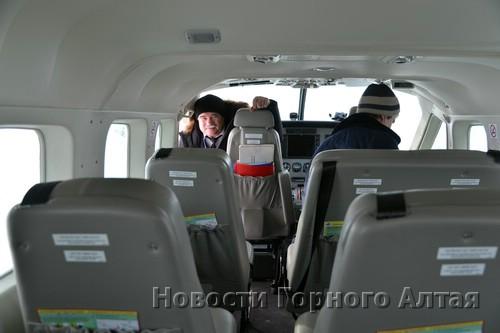 Самолет рассчитан на девять пассажиров