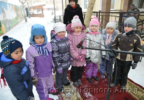 Будущие воспитанники детсада