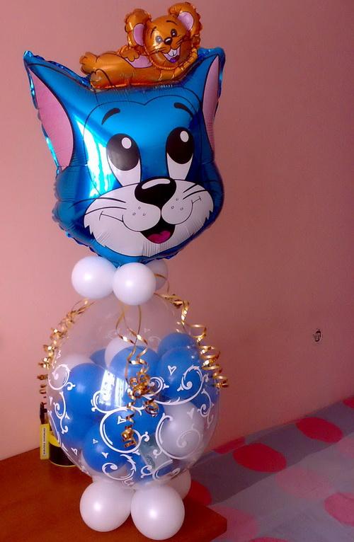 фигура «Котик с сюрпризом»
