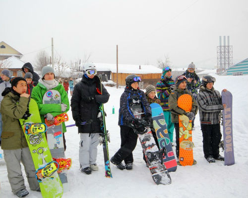 В Горно-Алтайске прошел молодежный фестиваль «Горный МИКС»