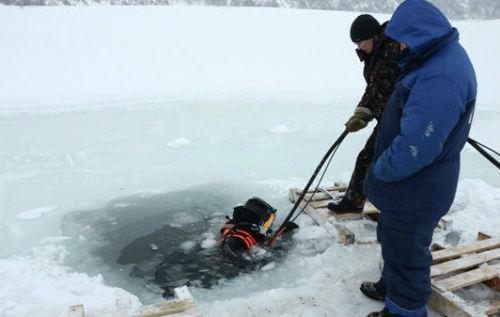 Специалисты пока не нашли причину снижения уровня воды в озере на «Алтайской долине»