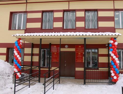 Здание отдела внутренних дел получило современное оснащение