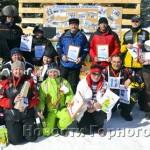 Участники и призеры фестиваля «Телецкое снежное ралли-2013»