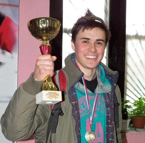 Артем Кухтуеков завоевал звание чемпиона