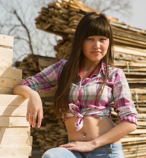 Мисс студентка Сурайа Киндикова