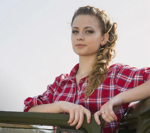 Мисс зрительских симпатий, она же вторая вице-мисс Анастасия Болдышева